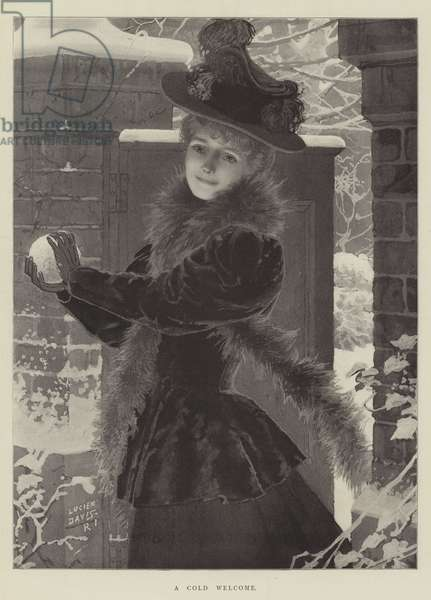 A Cold Welcome (litho)