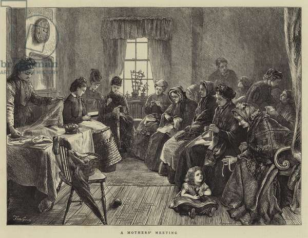 A Mothers' Meeting (engraving)