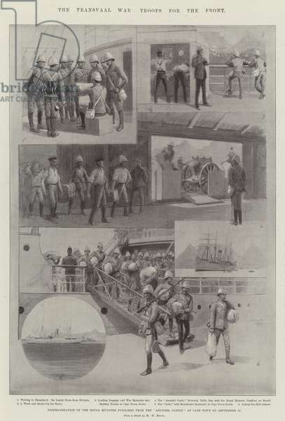 The Transvaal War, Troops for the Front (litho)