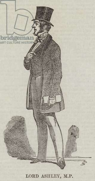 Lord Ashley, MP (engraving)