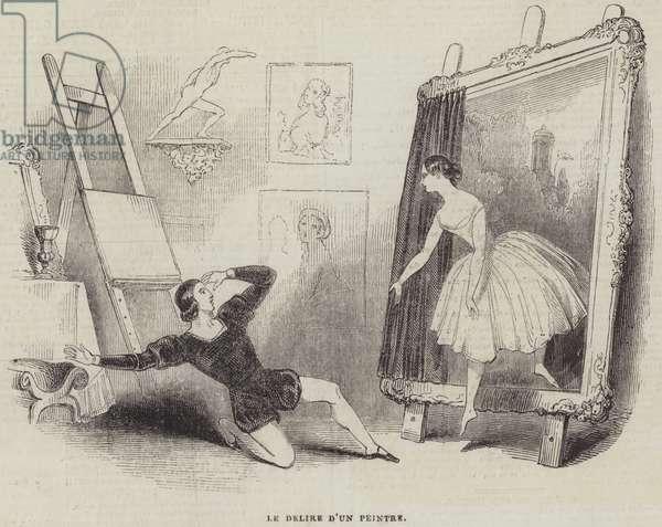 Le Delire D'Un Peintre (engraving)