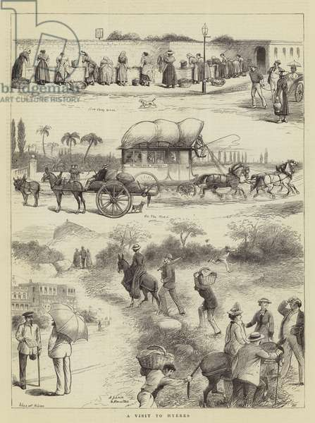 A Visit to Hyeres (engraving)