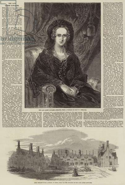 The Late Queen Dowager (engraving)