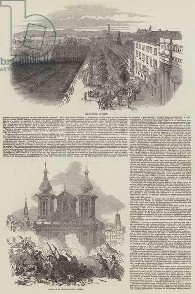 The Austrian Revolution (engraving)