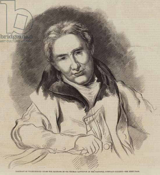 Portrait of Wilberforce (engraving)