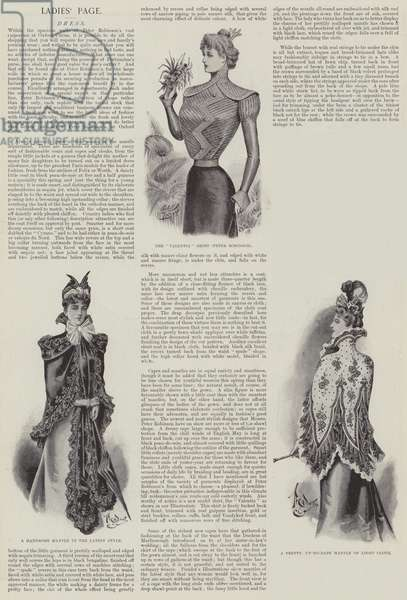 Ladies' Page (litho)