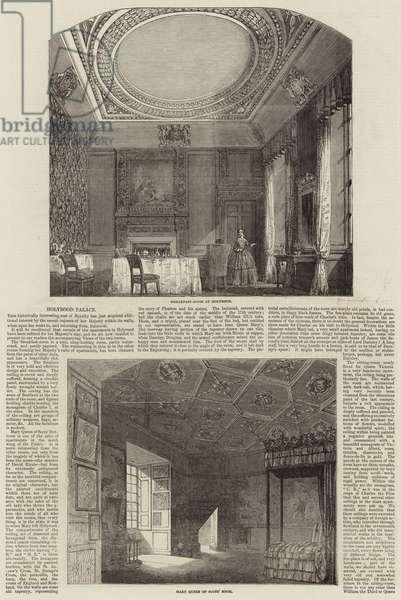 Holyrood Palace (engraving)