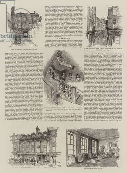 Sir Joshua Reynolds in London (engraving)