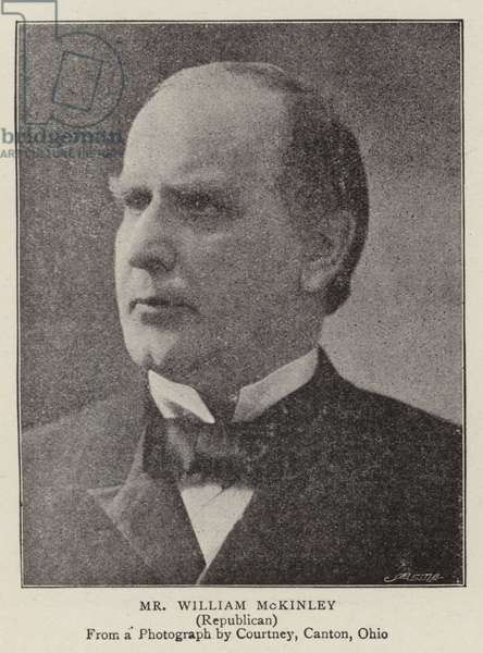 Mr William McKinley (b/w photo)