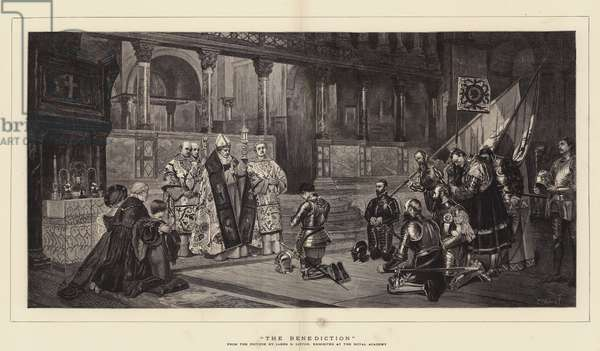 The Benediction (engraving)