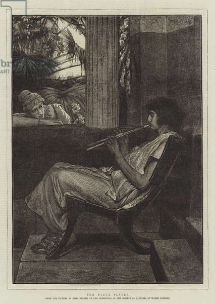 The Flute Player (engraving)