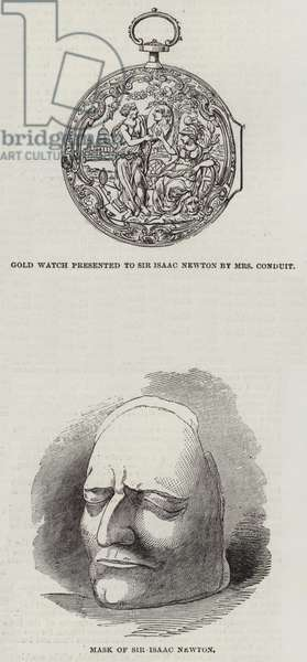 Memorials of Sir Isaac Newton (engraving)