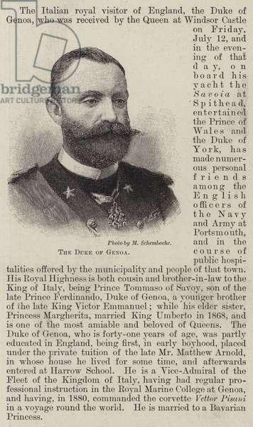 The Duke of Genoa (engraving)