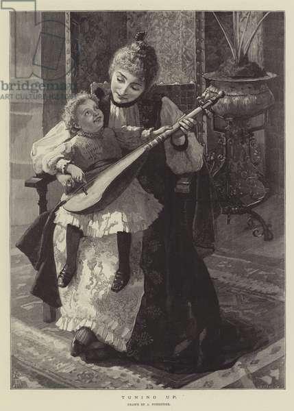 Tuning Up (engraving)