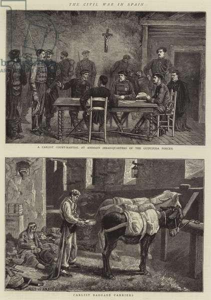 The Civil War in Spain (engraving)