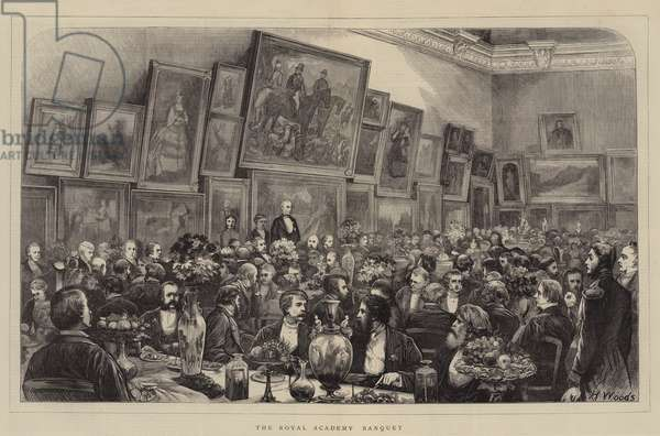 The Royal Academy Banquet (engraving)