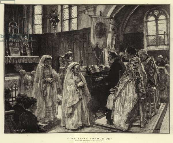 The First Communion (engraving)