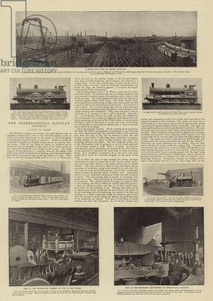 The International Railway Congress (b/w photo)