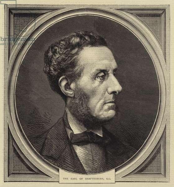 The Earl of Shaftesbury, KG (engraving)