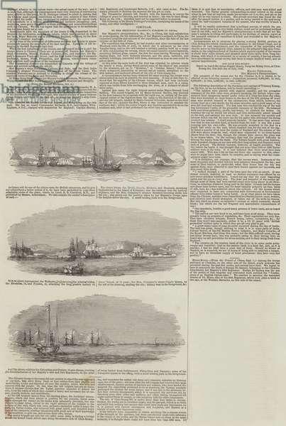 First Opium War (engraving)