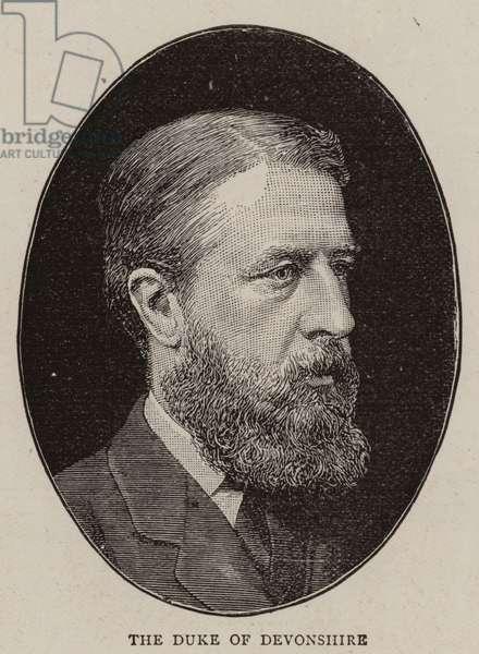 The Duke of Devonshire (b/w photo)