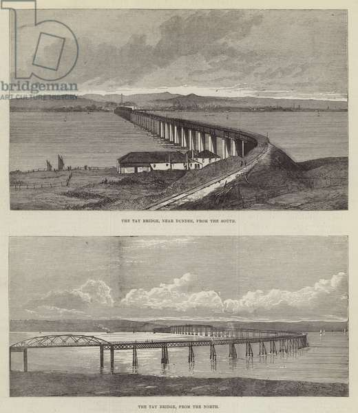 The Tay Bridge (engraving)