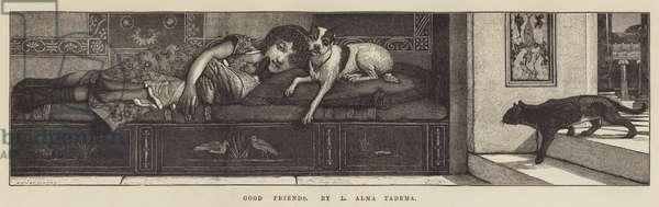 Good Friends (engraving)