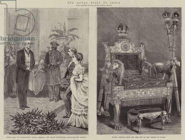 The Royal Visit to India (engraving)