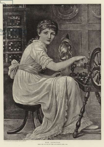 The Spinster (litho)