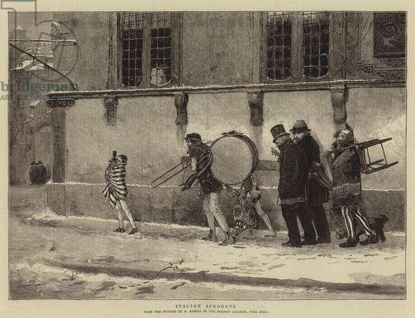 Italian Acrobats (engraving)