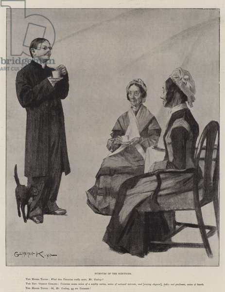 Humours of the Elections (litho)
