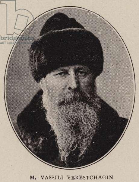 M Vassili Verestchagin (b/w photo)