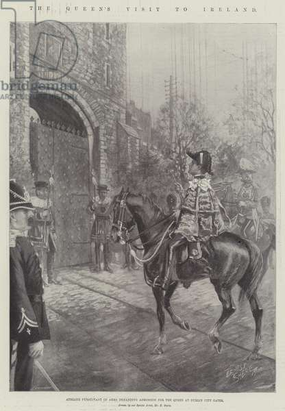 The Queen's Visit to Ireland (litho)