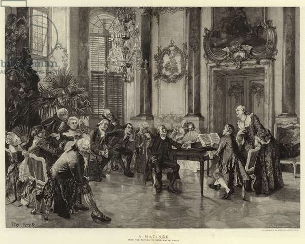 A Matinee (engraving)
