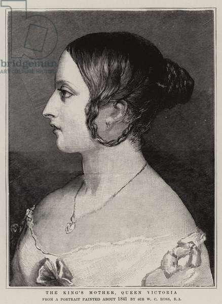 The King's Mother, Queen Victoria (engraving)