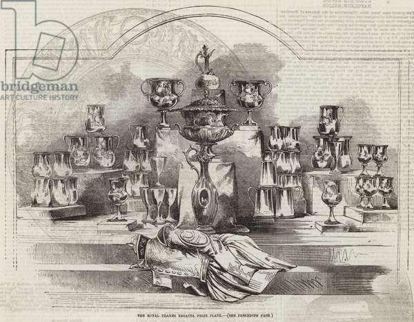 The Royal Thames Regatta Prize Plate (engraving)