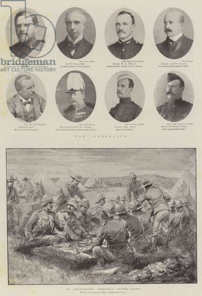 The War in the Transvaal (litho)
