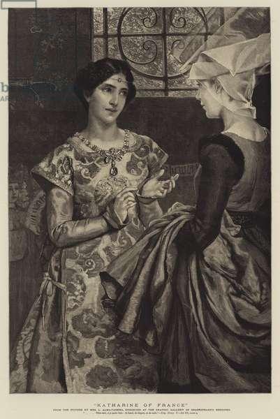 Katharine of France (engraving)