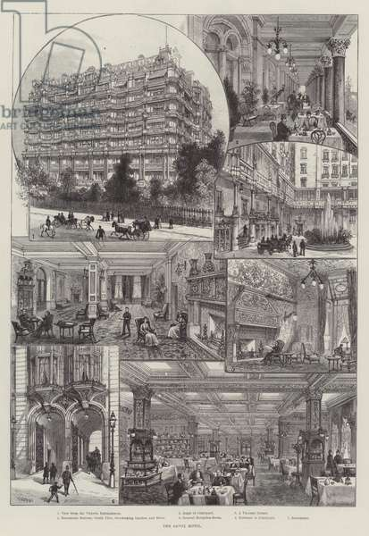 The Savoy Hotel (engraving)
