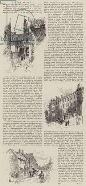 In Dickens-Land (engraving)