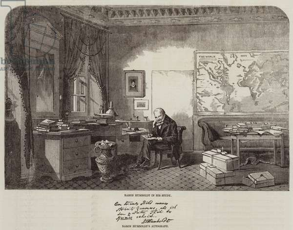 Baron Humboldt (engraving)