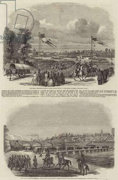 Great Exhibition Fetes at Paris (engraving)
