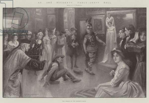 An Art Students' Fancy-Dress Ball (engraving)
