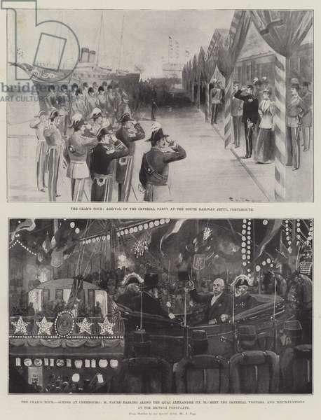 The Czar's Tour (engraving)