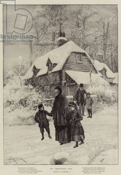 On Christmas Day (engraving)
