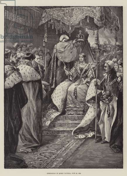 Coronation of Queen Victoria, 28 June 1838 (engraving)