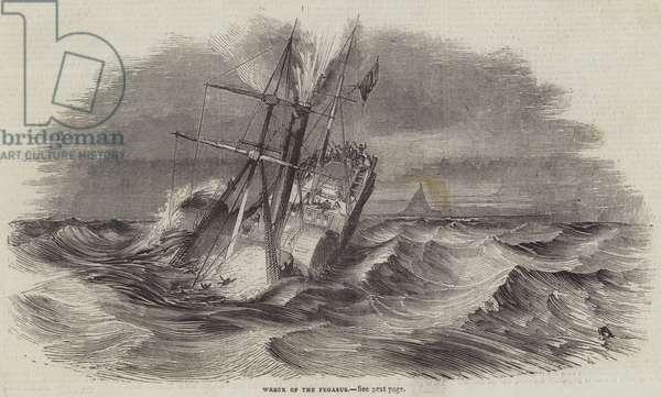 Wreck of the Pegasus (engraving)