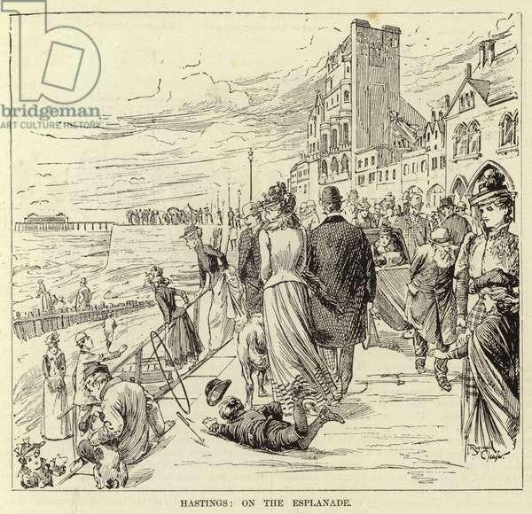 Hastings, on the Esplanade (engraving)