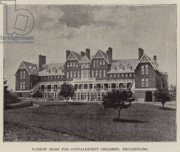 Yarrow Home for Convalescent Children, Broadstairs (b/w photo)