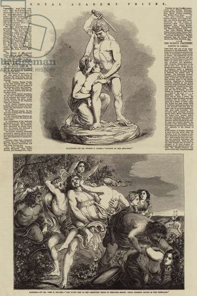 Royal Academy Prizes (engraving)